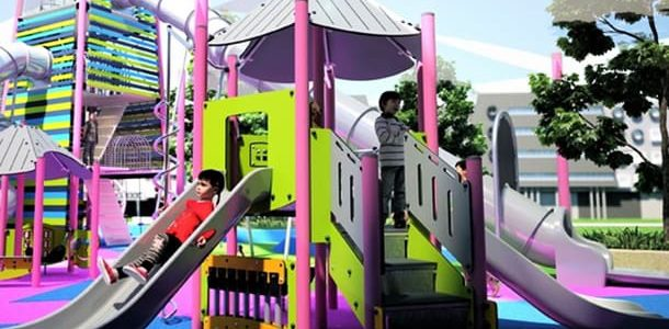 메이저놀이터 Use your local playground to prepare for summer exercise